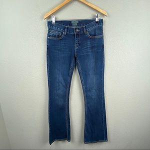 Ted Baker-London Bangkok bootcut jeans W28